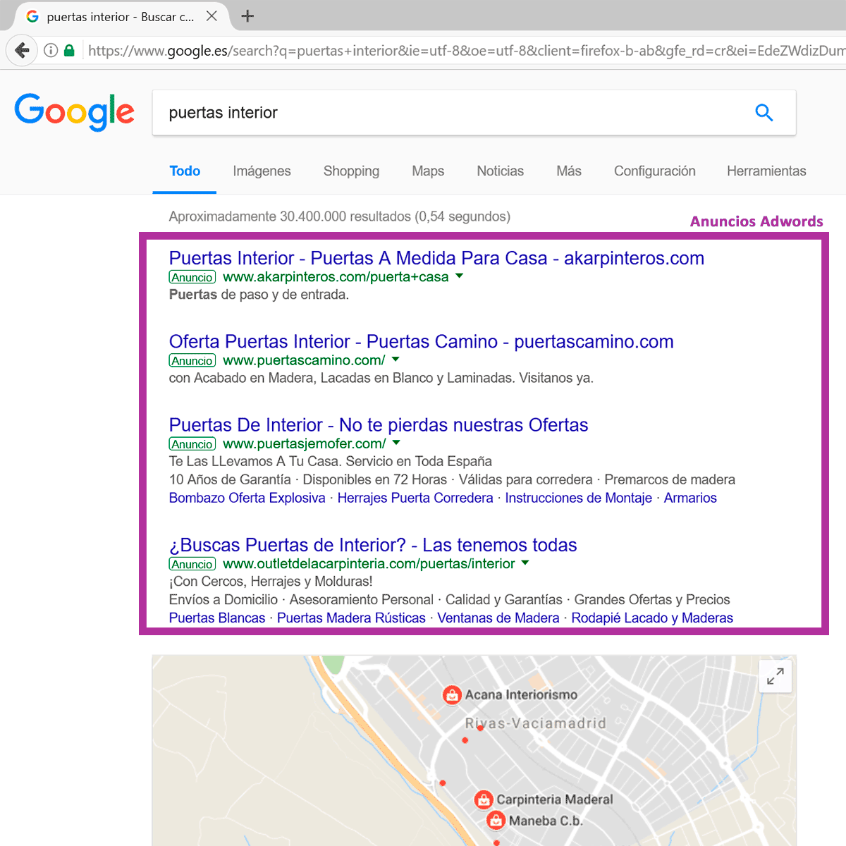 anuncios google pago por clic