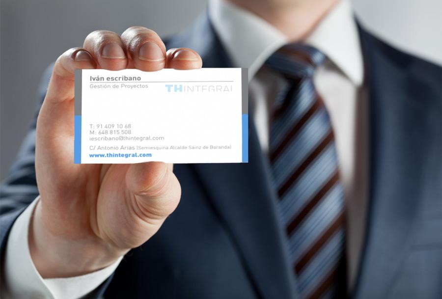 tarjeta visita presentación